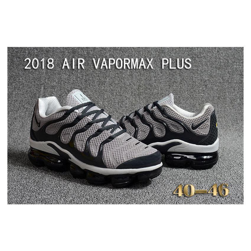 outlet store 0b9aa db270 Nike Air Vapormax Plus TN Men shoes TPU Grey And Black, Nike ...