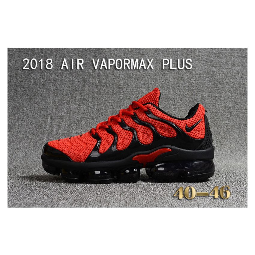 a9af8d369dd Nike Air Vapormax Plus TN Men shoes TPU Red And Black