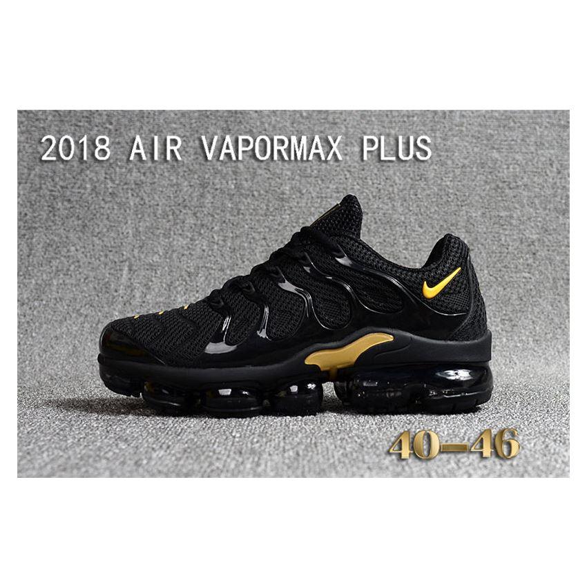 d4b33ebb7f1c Nike Air Vapormax Plus TN Men shoes TPU Black And Yellow