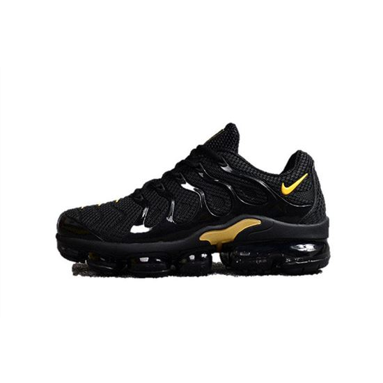 purchase cheap 06ee7 34c88 Nike Air Vapormax Plus TN Men shoes TPU Black And Yellow ...