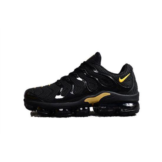 c46b500557e Nike Air Vapormax Plus TN Men shoes TPU Black And Yellow